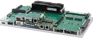 Rugged Xeon Server for unmanned vehicles with wide input