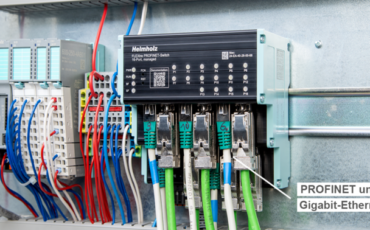 The new FLEXtra PROFINET switch from Helmholz